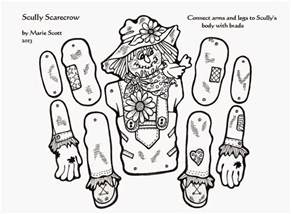 free printable scarecrow template serendipity hollow scarecrow craft