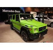 Mercedes G Class Gets Crazy New Colors &187 AutoGuidecom News