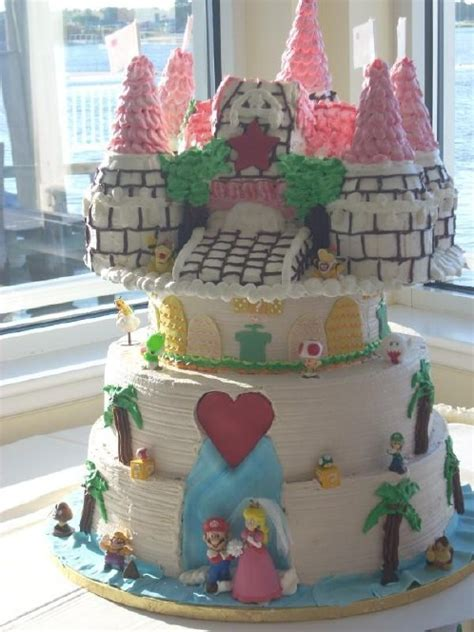Hochzeitstorte Nintendo by Player1 S Gameblog August 2008