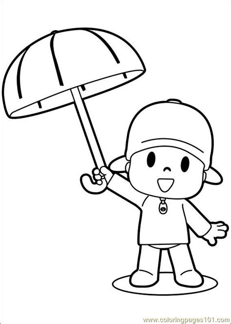 pocoyo coloring pages pdf coloring pages pocoyo 09 cartoons gt others free