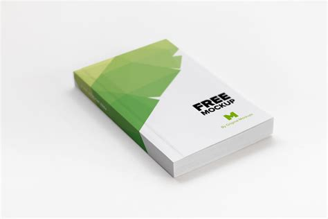 design photo mockups softcover trade book psd mockup 01 original mockups