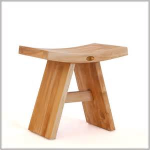 Teak Wood Stool by Large Asia Shower Bench 24 Quot Teak Wood Stool Spa Bath