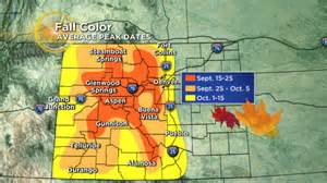 near weekend ahead for early leaf peeping 171 cbs denver