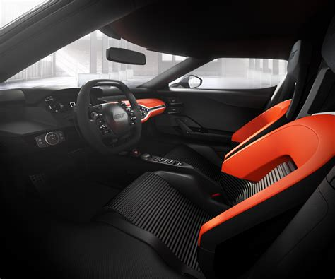 ford supercar interior 2017 ford gt color options