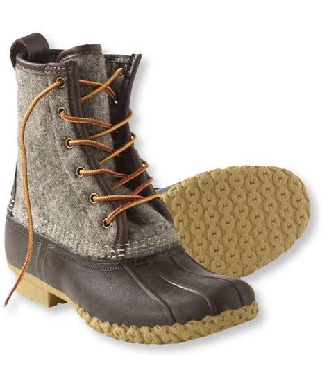 llbean winter boots s bean boots by l l bean 8 quot felt casual boots
