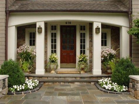 front door entry landscaping ideas pinterest