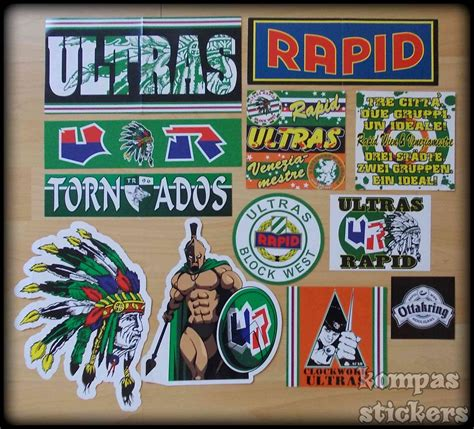 Ultras Rapid Aufkleber by Rapid Wien