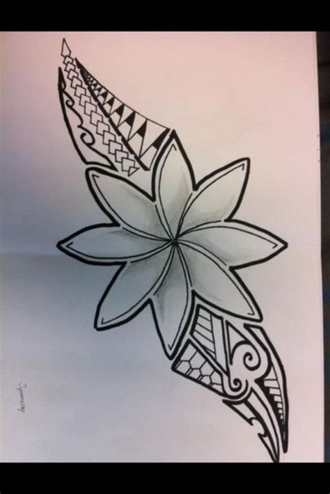 island flower tattoo designs 69 best all things images on polynesian