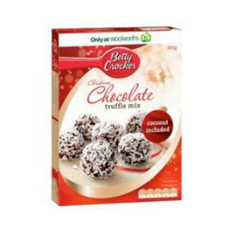 Truffle Mix the grocery betty crocker baking mix range