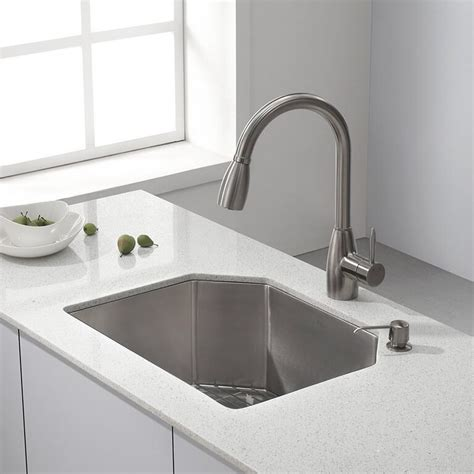 kraus kitchen faucets large kitchen sink for kitchen
