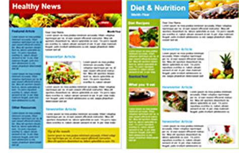 Nutrition And Diet Industry Email Marketing Dietary Requirements Email Template