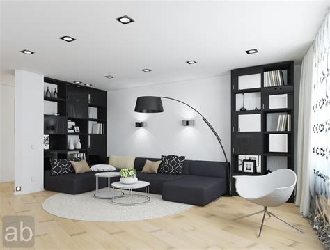 Black And White Living Room Ideas Home Designs Black And White Living Room Decorating Ideas