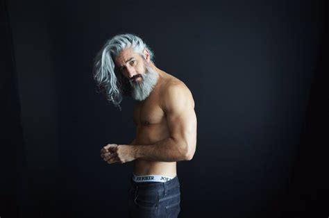 ron jack foley  volvo xc commercial eye candy hair beard styles beard styles