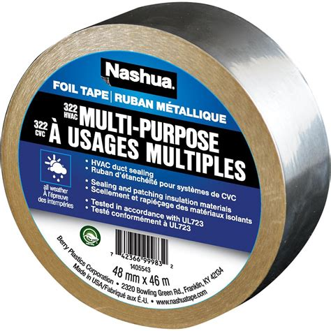 nashua nashua 322 multi purpose foil 1 89in x 50yd