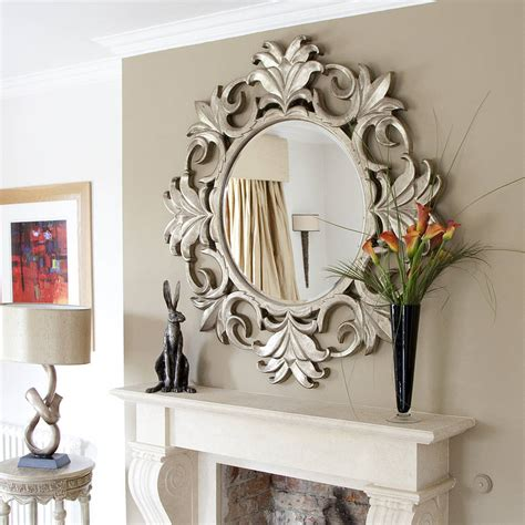 unique home decor wall mirrors by property backyard set