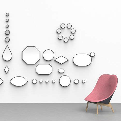 hay shape mirror loving these geometric jewel shaped mirrors by doshi