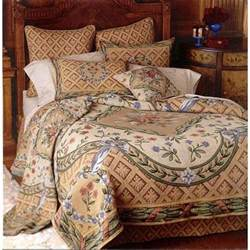 King Size Comforter Dimensions Savonnerie Full Size 2 Piece Tapestry Coverlet Set By Other