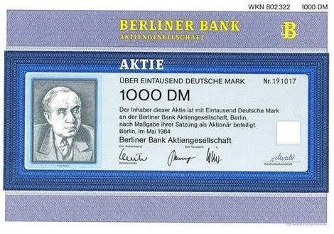 d bank aktie deutsche aktien nostalgie aktien
