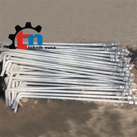 Tiang Tamiya Sloop Semi Baja Mur jual angkur murah teknik nusa 081288026122 jual alat