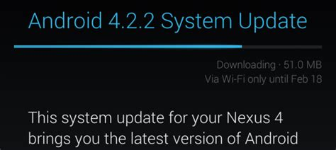 android system update how to an android device to find a system update