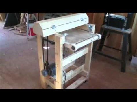 1hp Bench Grinder Homemade 18 Quot Drum Sander Youtube