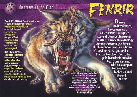 true stories of monstrous creatures our darkest history and lore books fenrir wierd n creatures wiki fandom powered by wikia