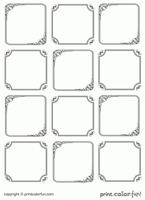 elegant printable gift tags elegant gift tags coloring page print color fun