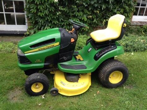 john deere  automatic ride  lawn mower  deck