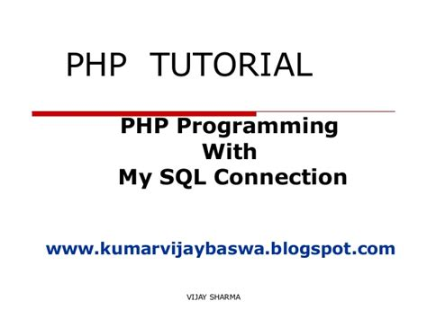 tutorial php programming php tutorial
