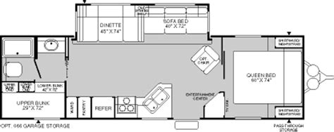 Wilderness Travel Trailer Floor Plan by 2004 Fleetwood Wilderness Travel Trailer Rvweb Com