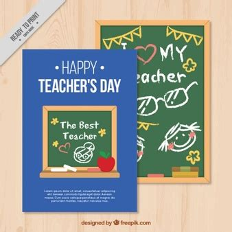 Teachers Day Card Template Psd by Vectors Photos And Psd Files Free