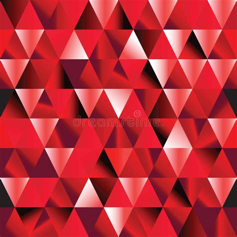 Design Pattern In Ruby | abstract ruby seamless triangle pattern stock vector