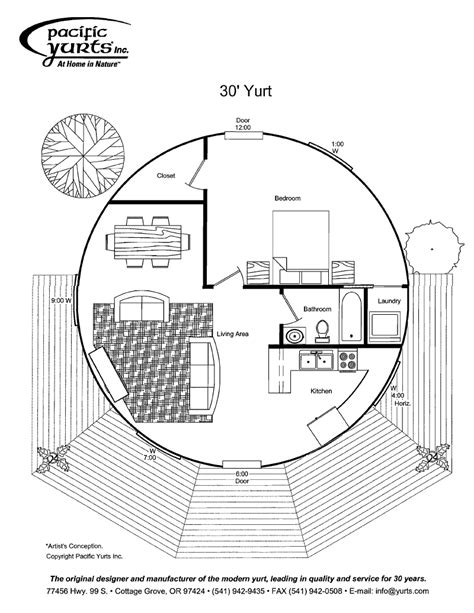 yurt floor plan add loft bedroom and bathroom