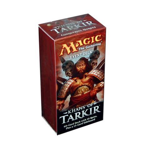 mtg event decks khans of tarkir event deck review by kayure patel