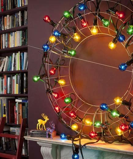 diy wire frame christmas decorations 13 diy and decorations real simple ideas for and wire wreath frame