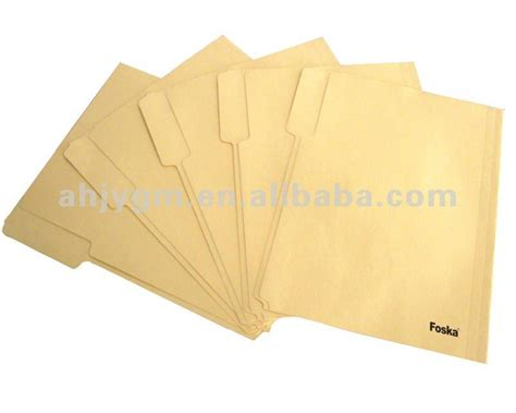 How To Make A Paper File - a4 fc letter size size manila paper file folder