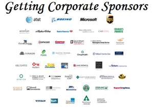 fundraising event tips getting corporate sponsors