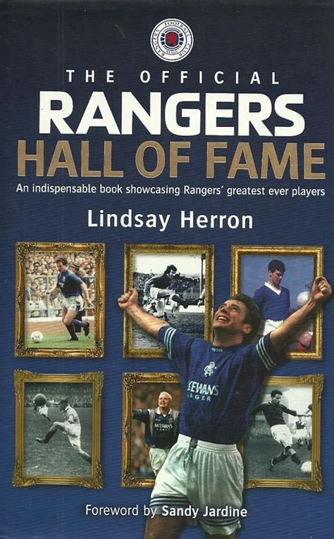 the official liverpool fc book of records carlton soccer the official rangers hall of fame by lindsay herron hard cover was listed for r120