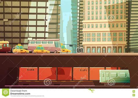 concept design new york new york city design concept stock vector illustration