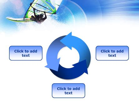 windsurfer template windsurfer powerpoint template backgrounds 01103