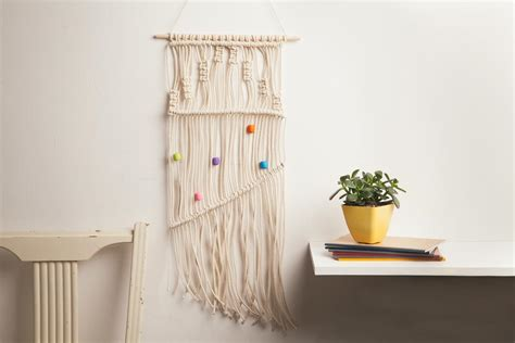 How To Macrame A Wall Hanging - macrame wall hanging maker crate