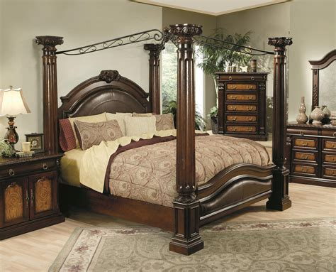 canapy bed hollywood home monte carlo canopy bed by oj commerce