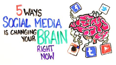 Media Influence On Image Outline by 5 Ways Social Media Is Changing Your Brain Autos Post