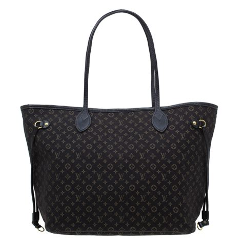 Lv Neverfull Mini louis vuitton neverfull mm black mini tote shopper bag