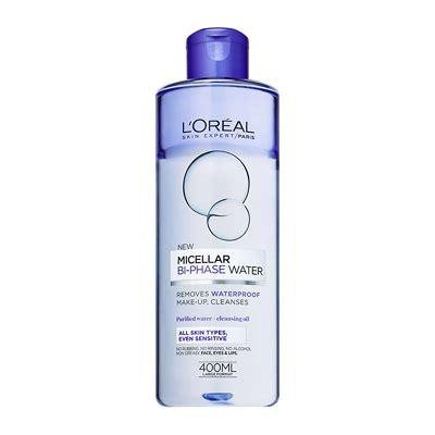 L Oreal Micellar Cleansing Water l oreal bi phase micellar cleansing water 400ml