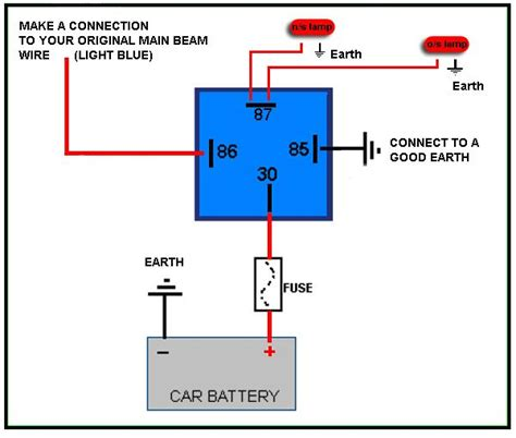 12 volt relay wiring diagram 4 pole 12 wiring diagram