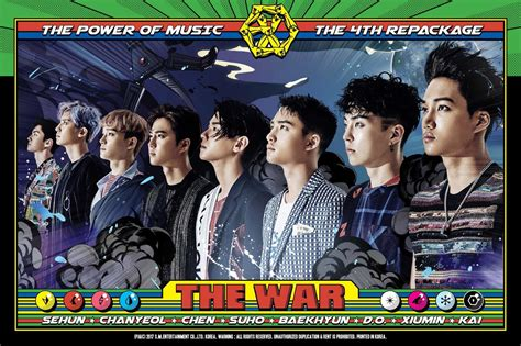 exo album power album of the day exo the war the power of music