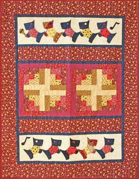 77 best images about scottie dogs quilt on