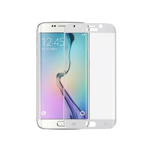 S7 Flat Tempered Glass Color Edge Gold Color 100 Premium 1 schutzglas w 246 lbung f 252 r samsung galaxy s7 s6 edge plus