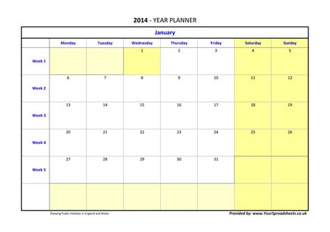 powerpoint calendar template 2011 yearly schedule template